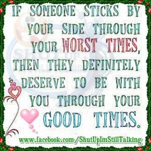 Stick by your side