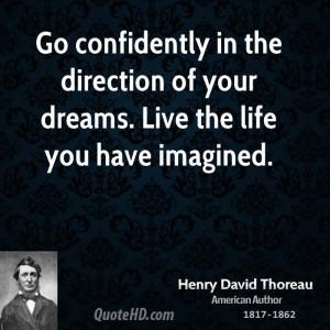 Henry David Thoreau Life Quotes