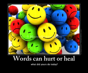 Spiteful Words Can Hurt Your