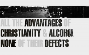 Black and white cars quotes alcohol christianity roads brave new world ...