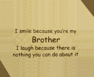 Funny Brother Quotes of Raksha Bandhan