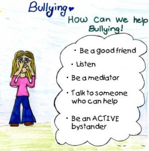 Added Tuesday, January 24, 2012, Under: Tips for the Bully Bystander
