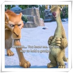 words from sid the sloth more sid the sloth iceage 1