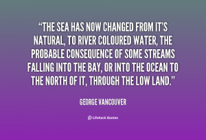 Quotes by George Vancouver