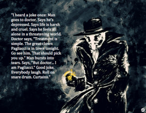 joke once – Rorschach motivational inspirational love life quotes ...