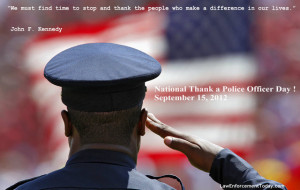 Thank You Police Officer