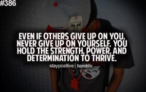 Quotes About Determination And Strength Inspirational quote: even if
