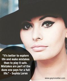 sophia loren # quotes # mistakes more sophia loren quotes quotes ...