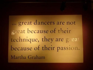 Dance quote by Martha Graham