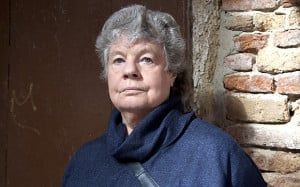 Dame Antonia Duffy – who writes as A S Byatt Photo: REX FEATURES