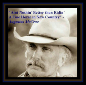 Lonesome Dove Gus Quotes