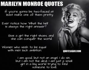 Best Of Marilyn Monroe Quotes