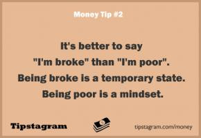 Being Broke Quotes