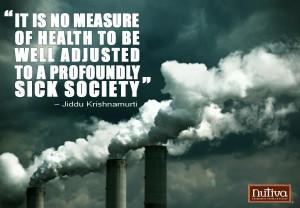 Sick society quote
