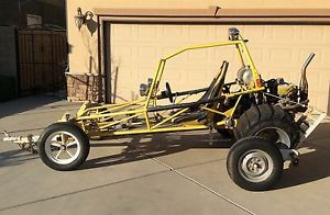 ÃÂ Sand Rail Frame/Dune Buggy 2 Seater Rolling Chassis Needs Engine ...