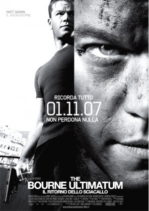 ... Bourne Ultimatum - Il ritorno dello sciacallo Paul Greengrass - 2007
