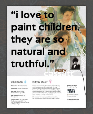 Meet Mary Cassatt – one of the many artists featured in Masterclass ...