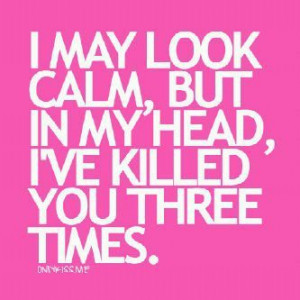 ... now hahaaaa 359 notes # pink # kill # hate # quote # quotes # funny