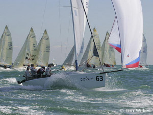 We won the 2005 Melges 24 Worlds because we trained hard, sailed well ...