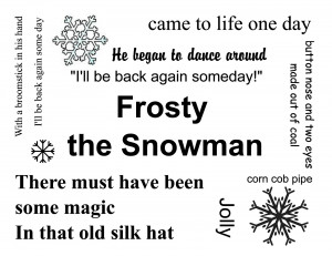 Frosty The Snowman Quotes Frosty the snowman on