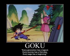 Dragon Ball Z Inspirational Quotes