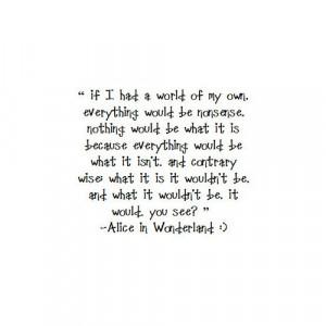 jadounet:Alice in wonderland quote image by dark_vivica3087 on ...