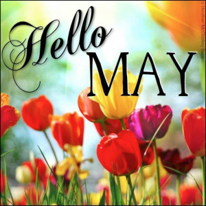 Hello May! Fifty Six years of WEDDED BLISS! LOL, :) ♥