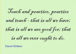Quote of the Day : Ernest Holmes