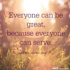 Great quote about serving others.