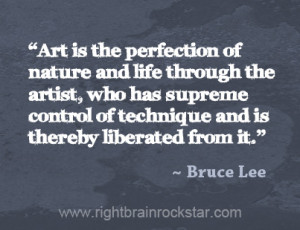 What Bruce Lee Can Teach Us About Developing an Artistic Style