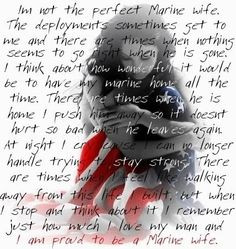 Marine Wife Sayings Or Quotes Image By Mndalynn1029 On Photobucket On