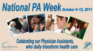 Celebrate National Physician Assistant Week October 6-12