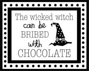 black and white witch's halloween saying