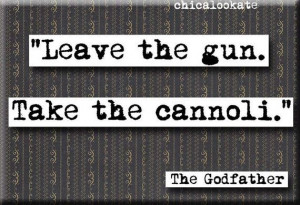 Godfather Cannoli Quote Magnet or Pocket Mirror by chicalookate, $4.00
