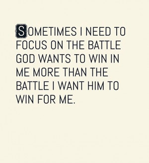 Steven Furtick Quote the battle in me
