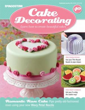 Cake Decorating (Issue 40) | DeAgostini Shop UK