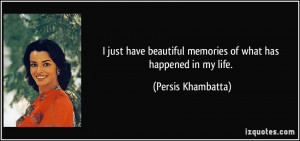 Beautiful Memory Quotes