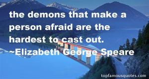 Elizabeth George Speare Quotes Pictures