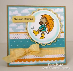 Krafty Peeks, Day TWO - Steven's Stamps!!!