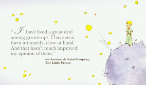 ... Little Prince, the iconic book that has marked the childhood of pretty