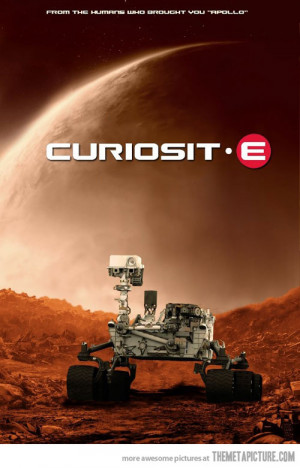 Funny photos funny Walle Curiosity Mars
