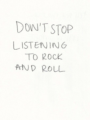 Home Audio Sound Rock Music Lyric Quotes