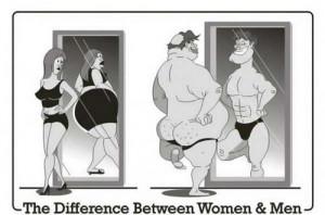 Esta ilustración grafica claramente la diferencia de pensamiento ...