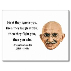 Gandhi Quote 5b Postcards