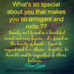 Learn To Respect And Love Others..