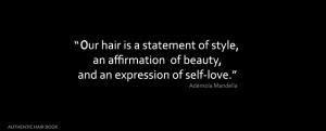 Hair Salon Quotes http://ademolamandella.com/