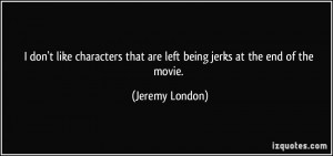 People Being Jerks Quotes