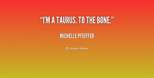 Taurus And Sayings
