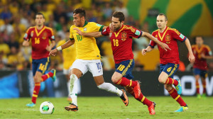 football sport neymar spain brazil soccer hd wallpaper background