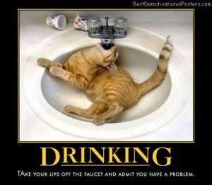 drinking-cat-sink-humor-best-demotivational-posters